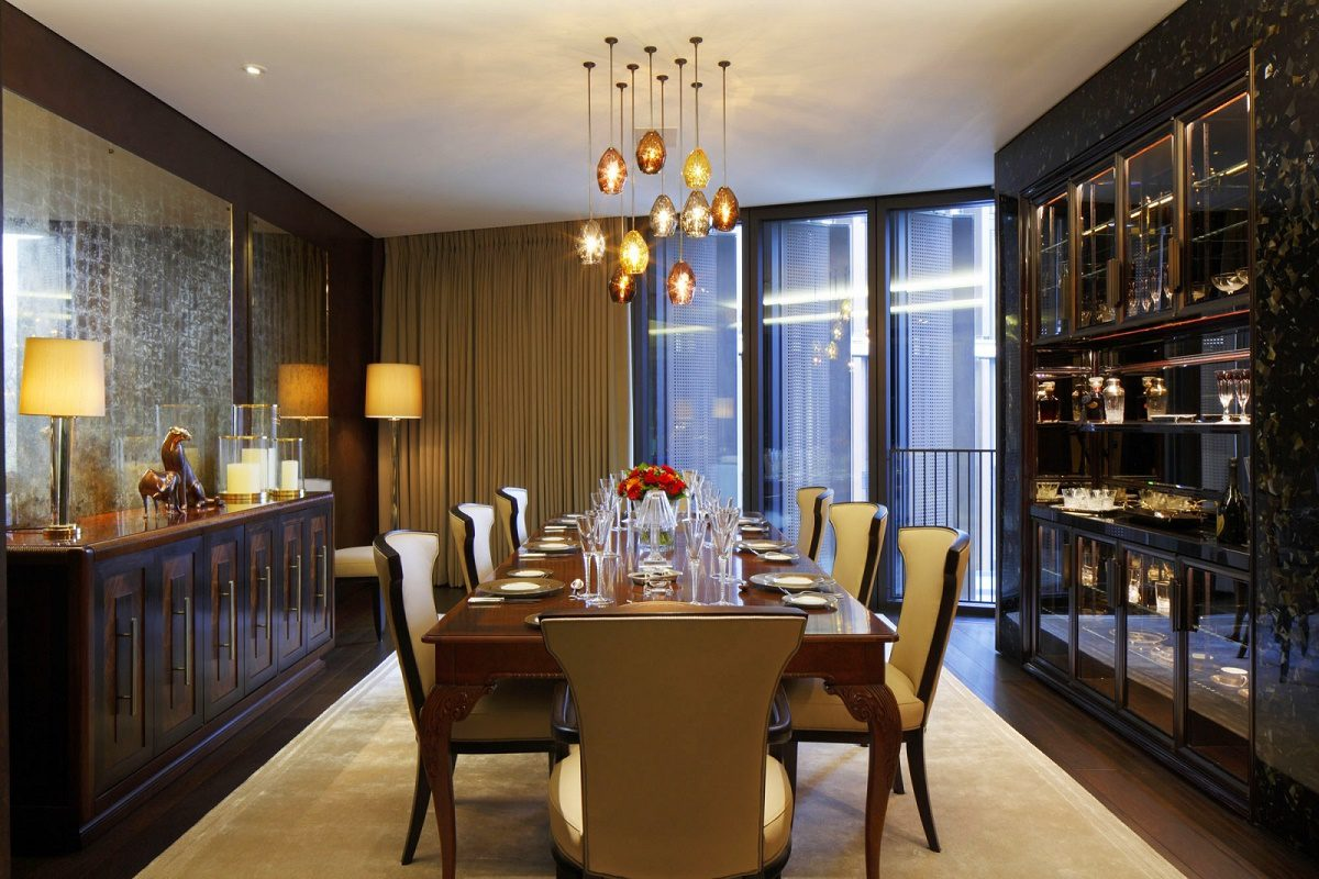 casa forma one hyde park contemporary formal dining room