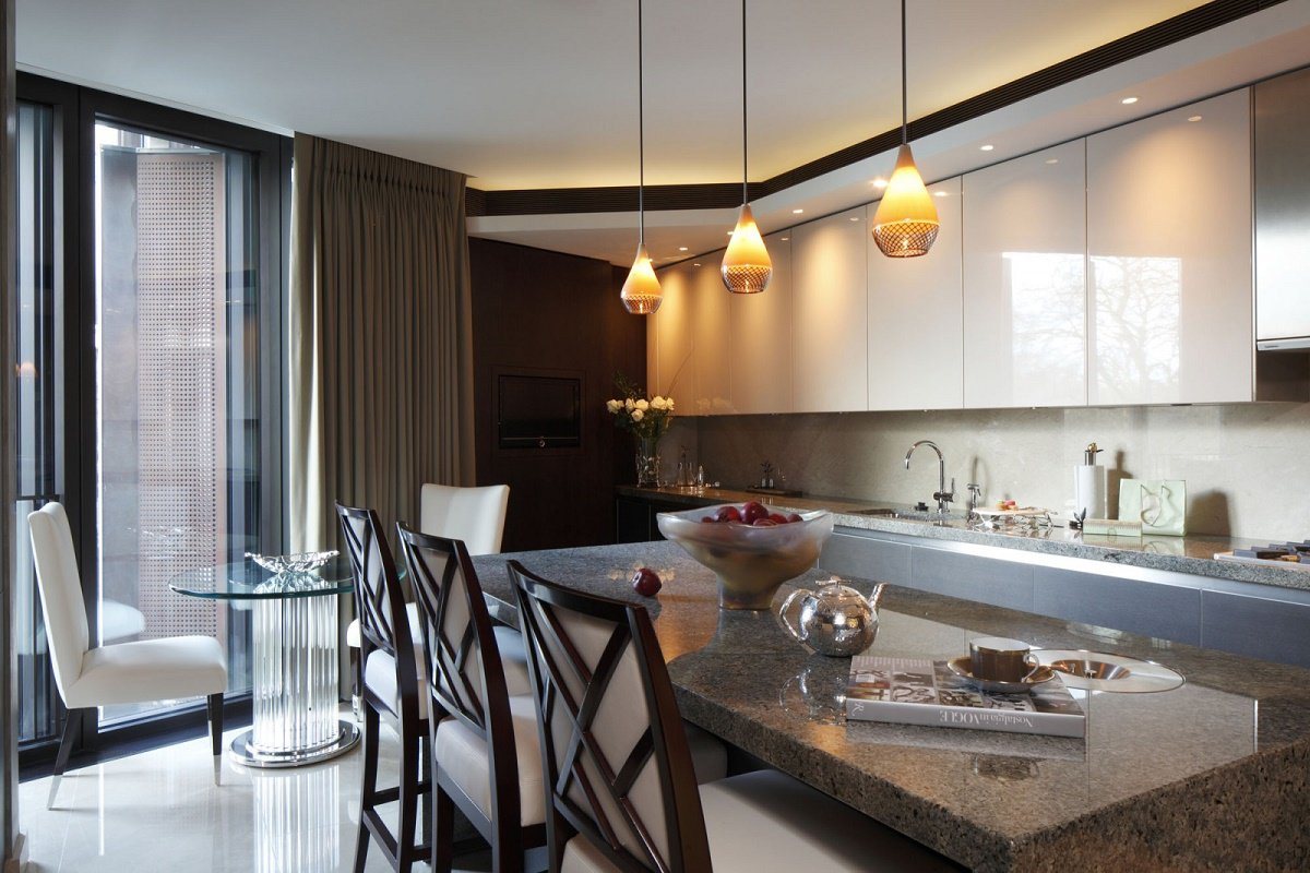 casa forma one hyde park custom kitchen