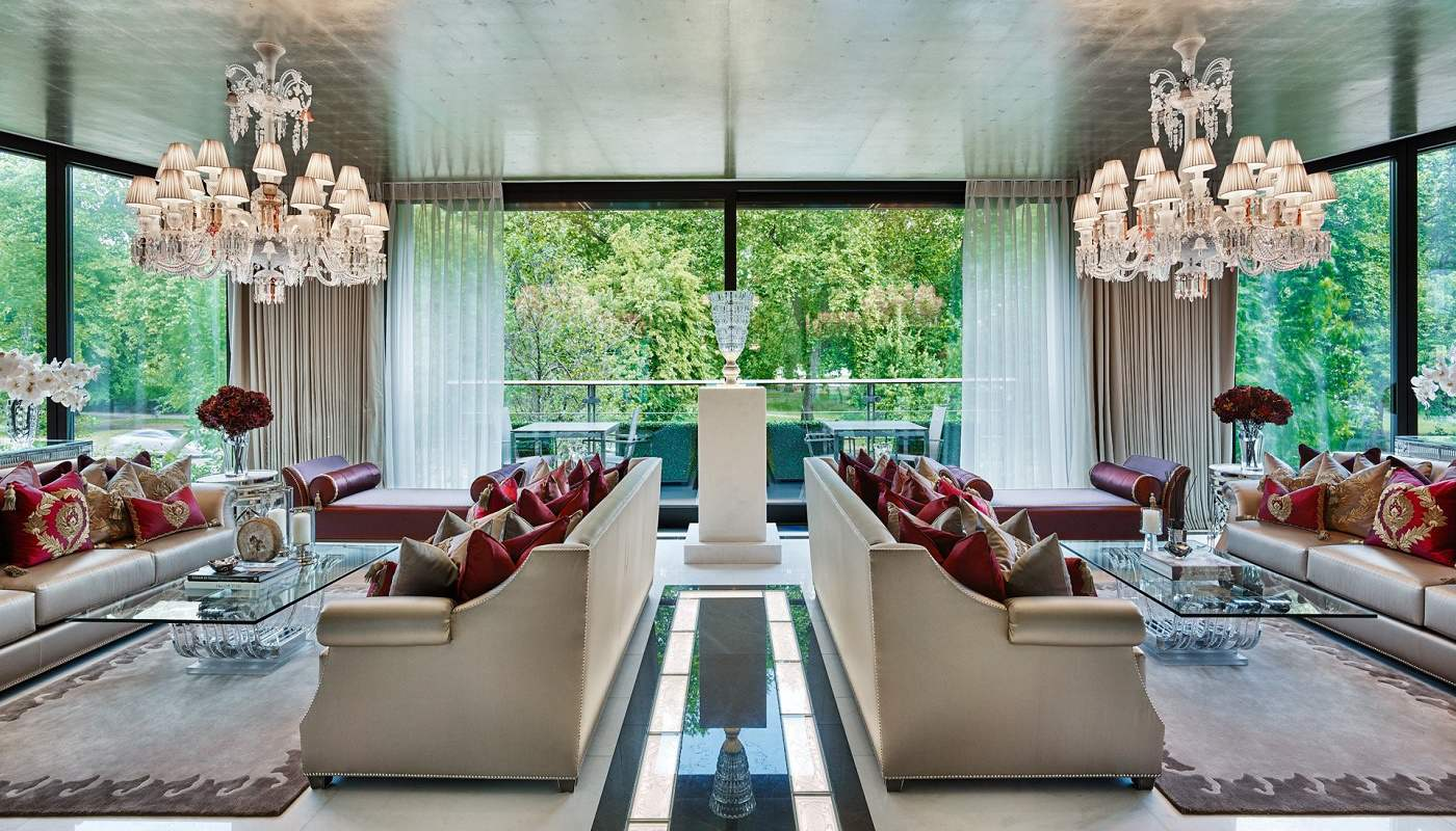 Elicyon one hyde park luxury design living room full view
