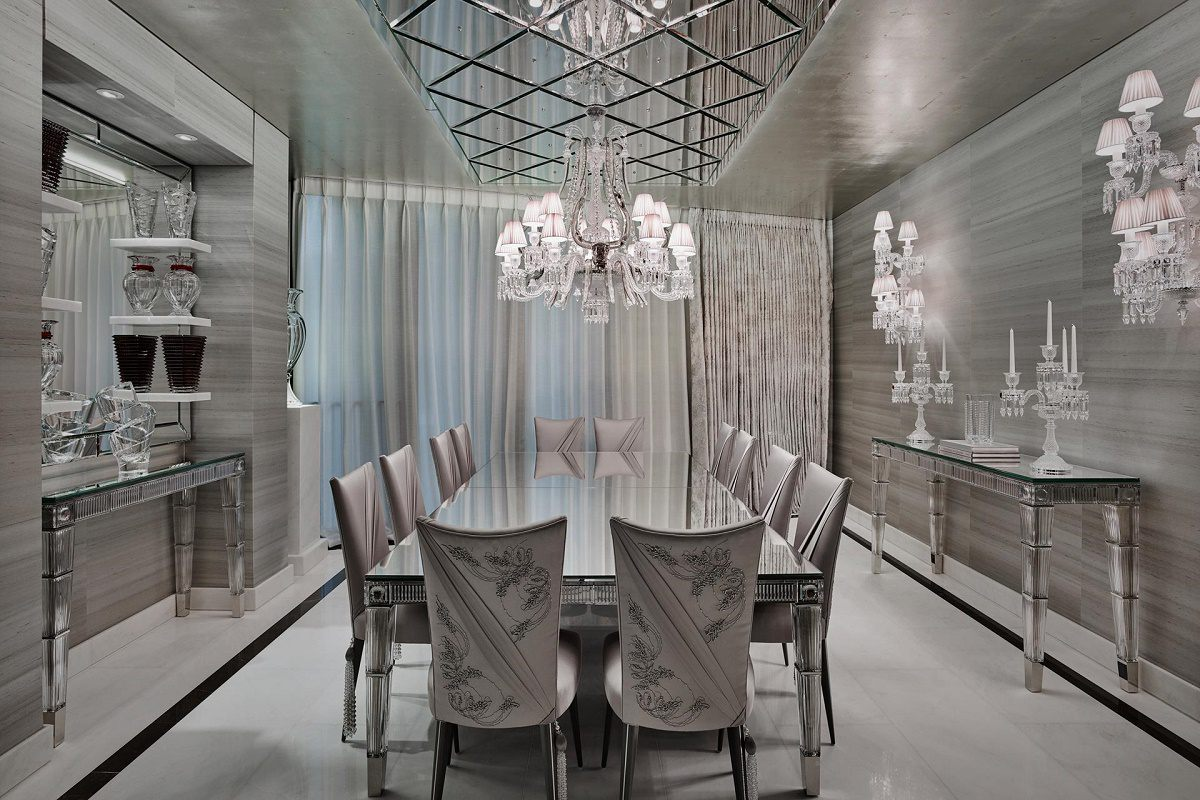 elicyon one hyde park luxury design dining room