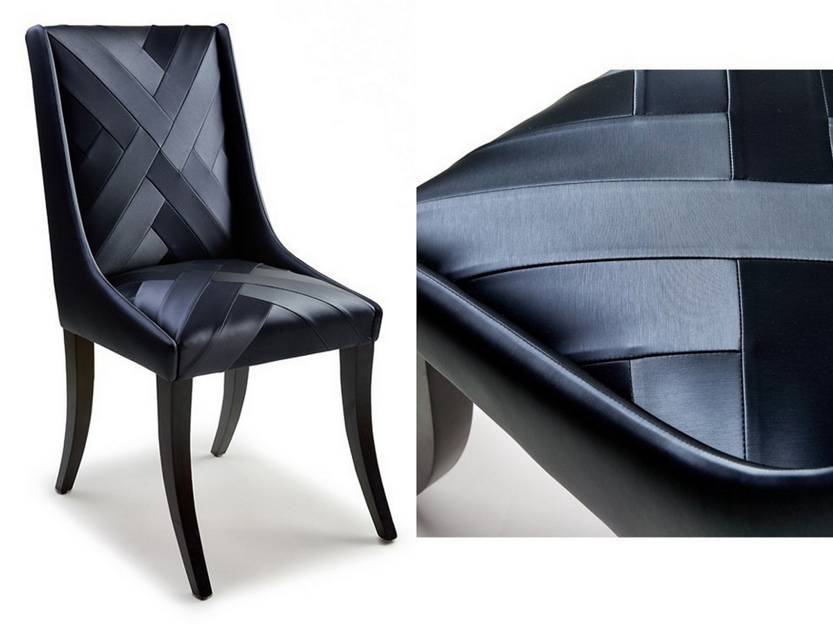 aiveen daly luxury upholstery chevron chair