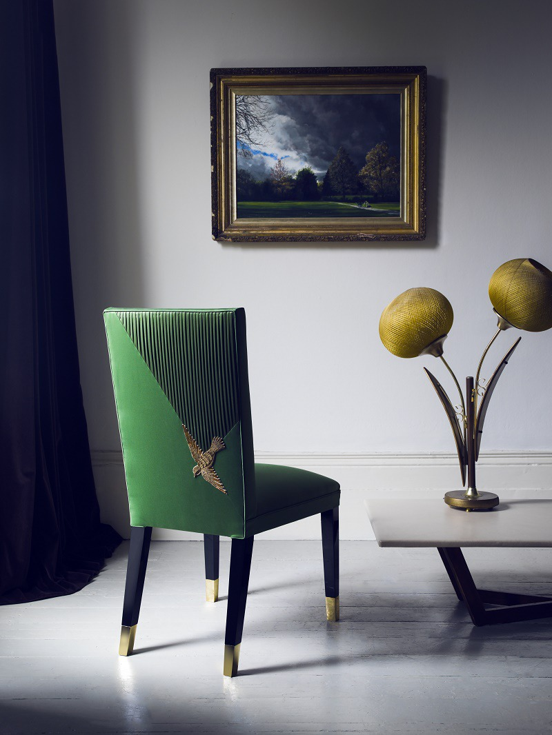 aiveen daly luxury upholstery paradise chair promotional pic