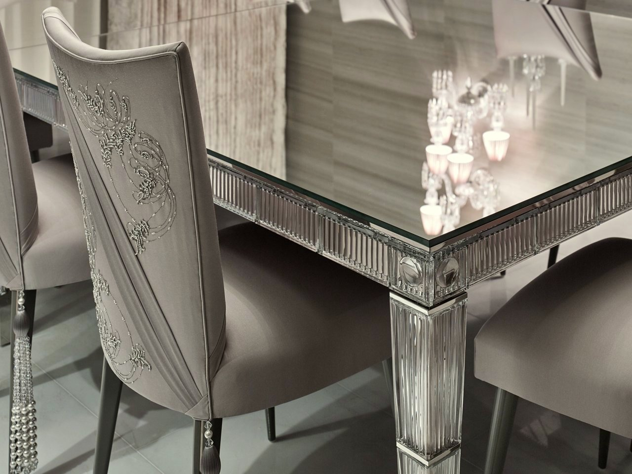 aiveen daly luxury upholstery Elicyon dining room