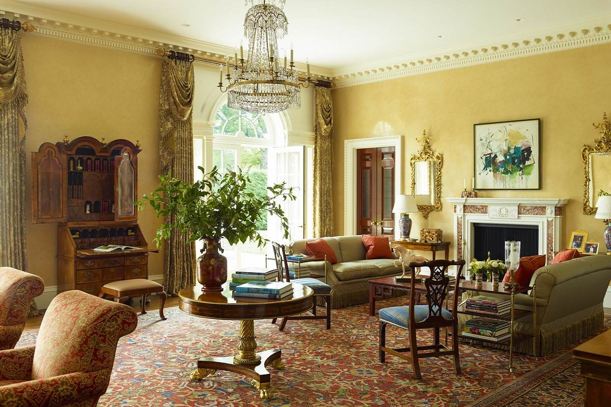Georgian Modern Traditional Elegance DKdecor