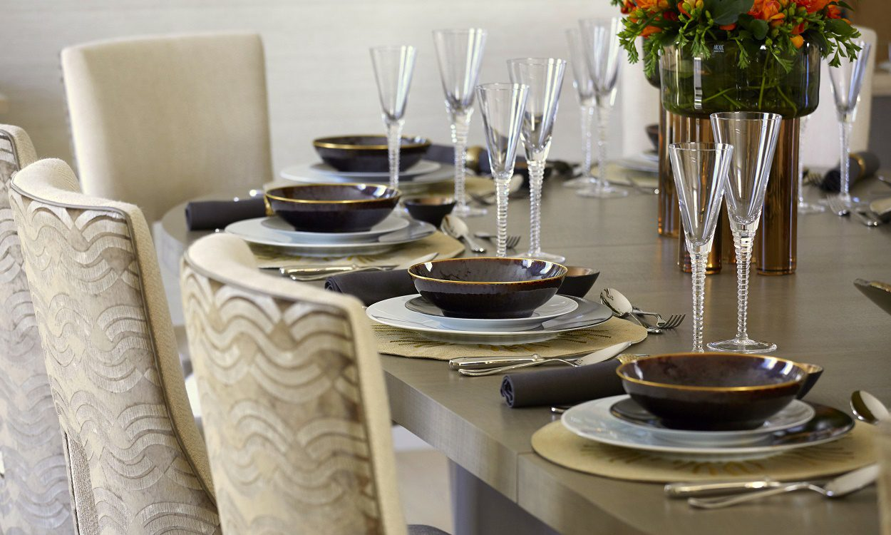 Helen Green livable luxury dining room details