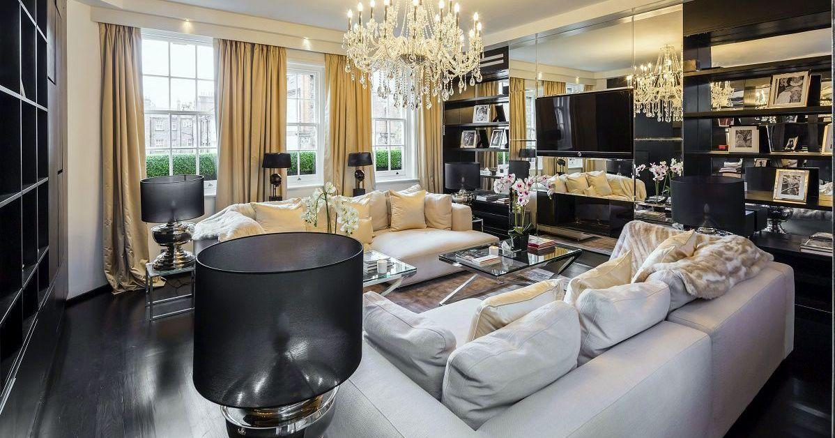 Alexander McQueen Penthouse: Style Homage   DK-decor