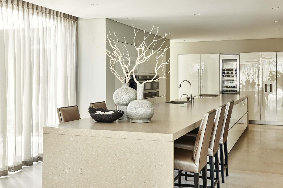 eric kuster contemporary lakeside villa kitchen