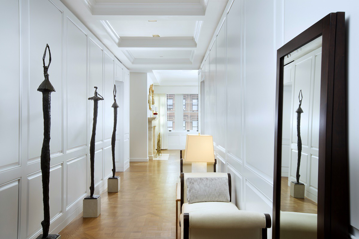 Marquand refined contemporary design hallway gallery