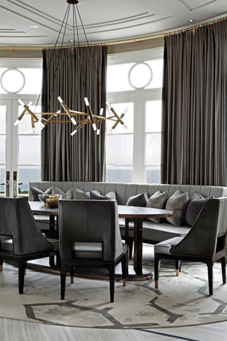 ferris rafauli iconic luxury design breakfast area