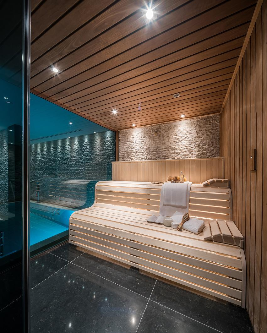 beautiful interiors whitelands home spa sauna