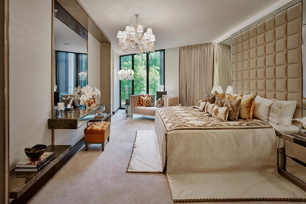 beautiful interiors elicyon one hyde park bedroom