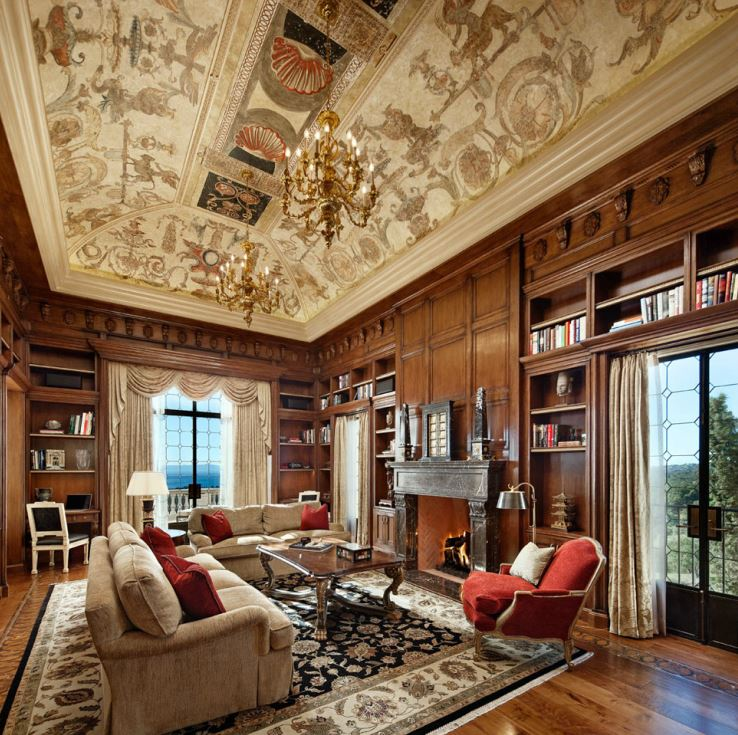 beautiful interiors SFA home library