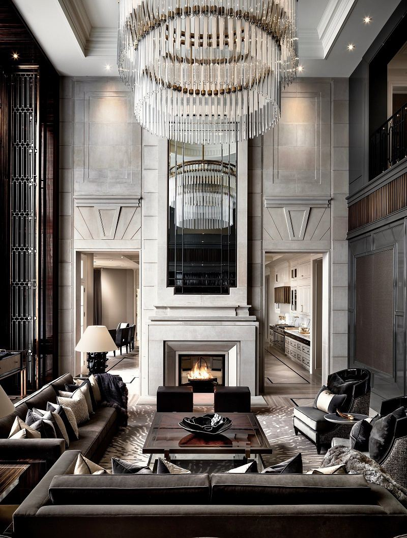 Iconic luxury design ferris rafauli dk decor - Luxury house interiors ...