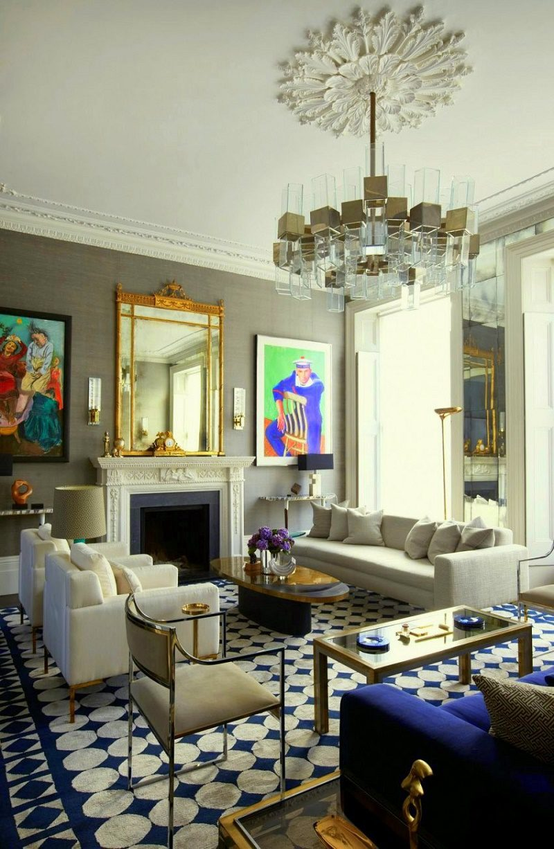 Notting Hill townhouse drawing room A