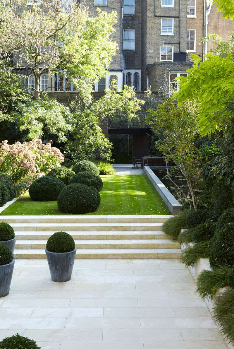Notting Hill townhouse garden