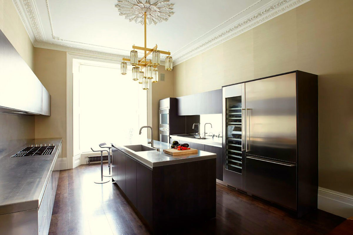Notting Hill townhouse kitchen