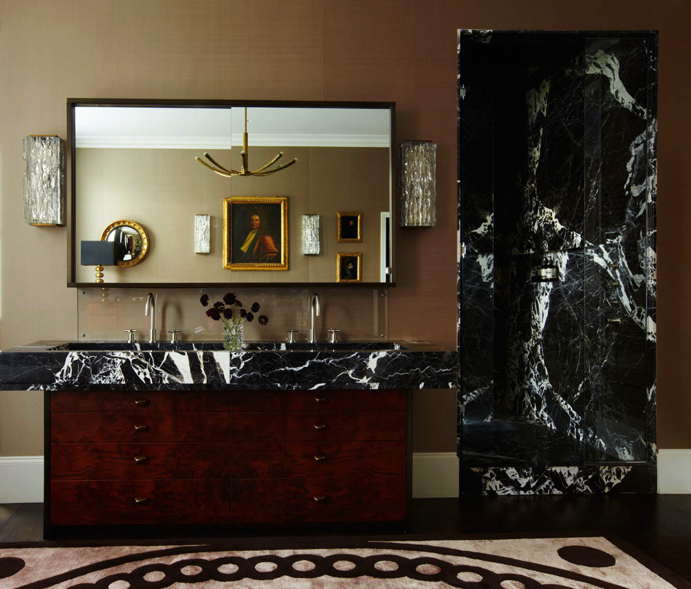 Notting Hill townhouse master bathroom C