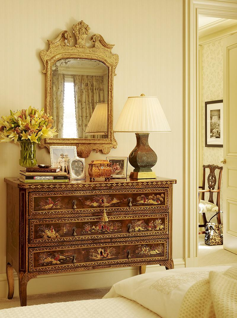 contemporary classical Chinoiserie chest