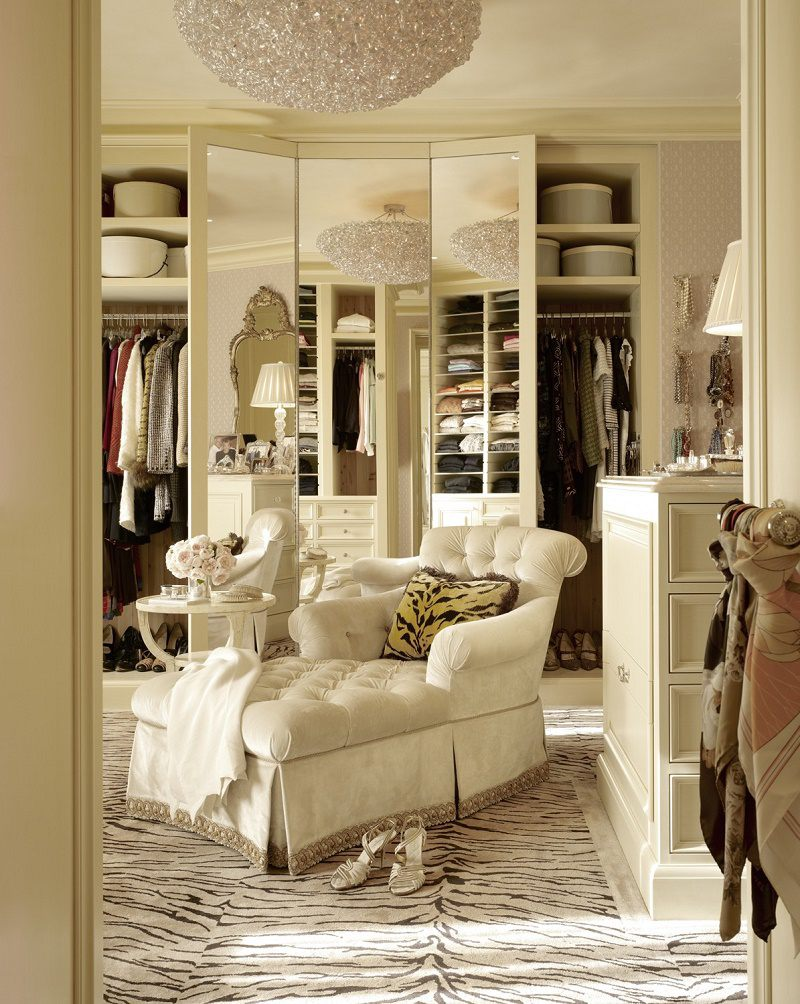 contemporary classical dressing room