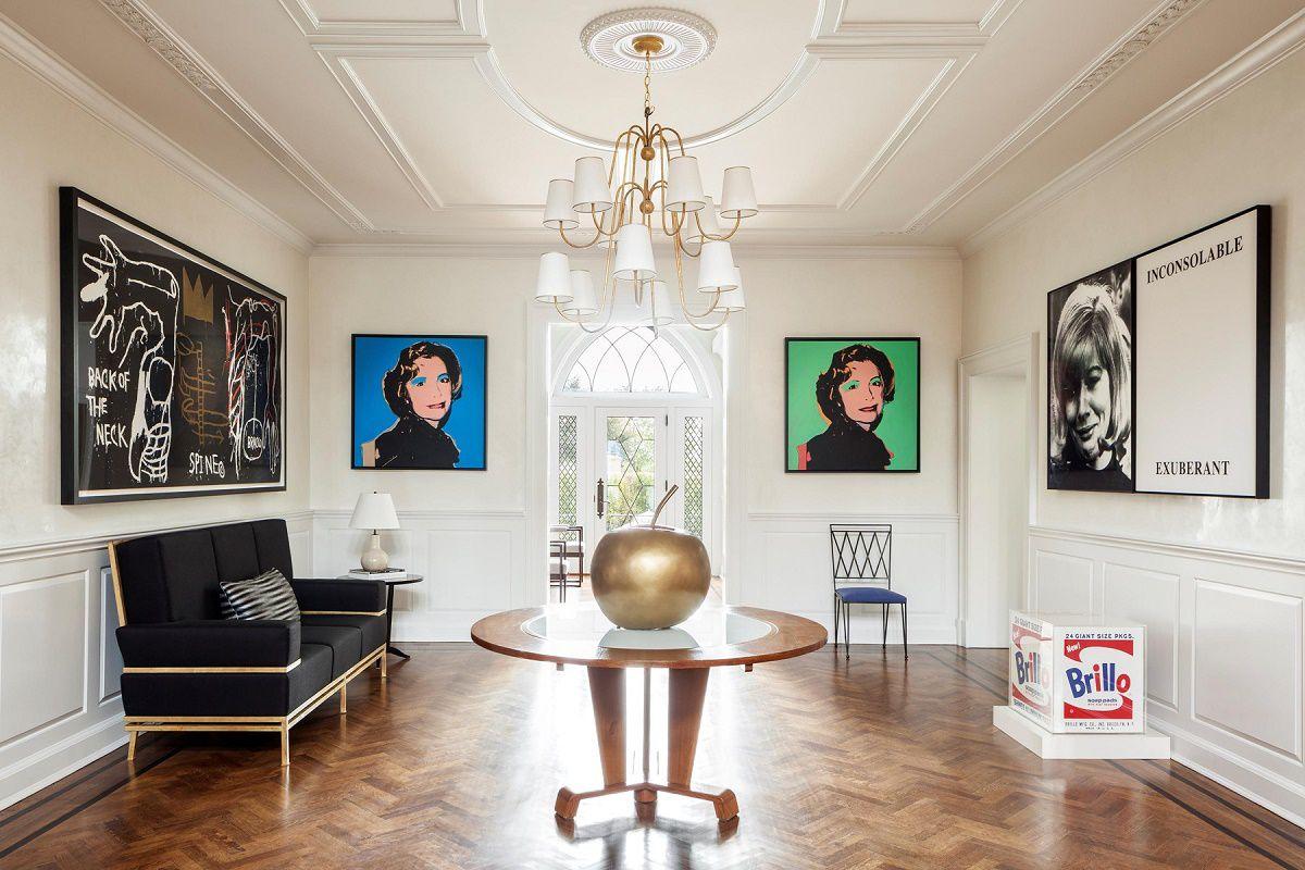 modern luxury Mark Cunningham foyer