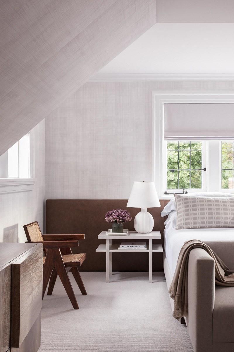 modern luxury Mark Cunningham guest bedroom