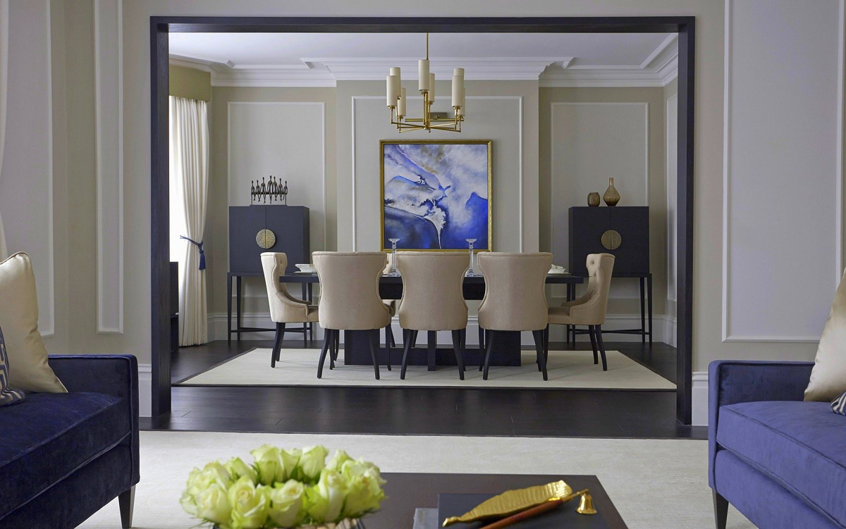 timeless interior design Boscolo dining room