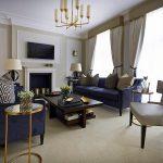 timeless interior design Boscolo living room