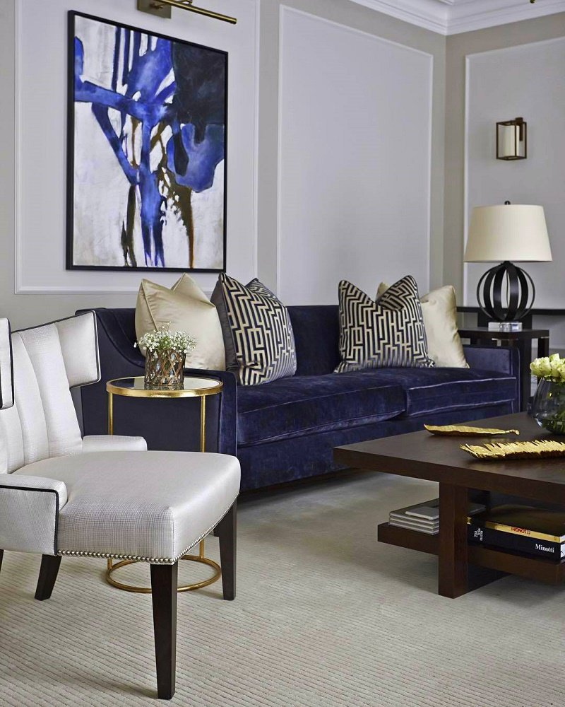 timeless interior design Boscolo living room B
