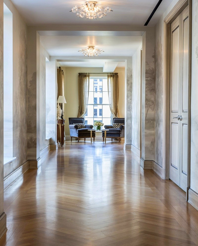 Gramercy Park transitional interior design gallery