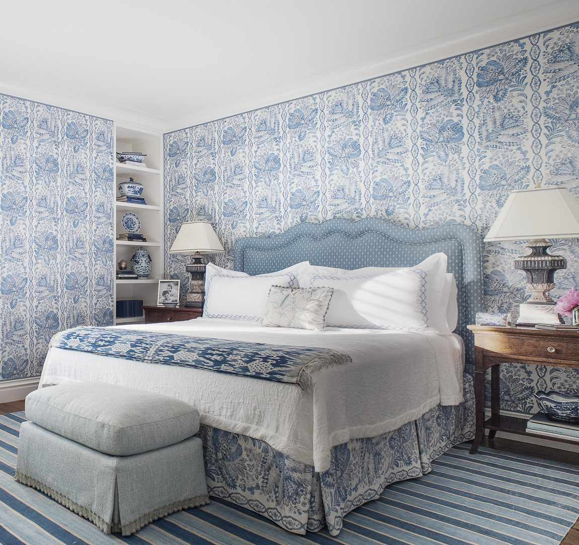 Suzanne Tucker traditional style guest bedroom A
