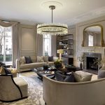 Laura Hammett classic contemporary Chester Square drawing room