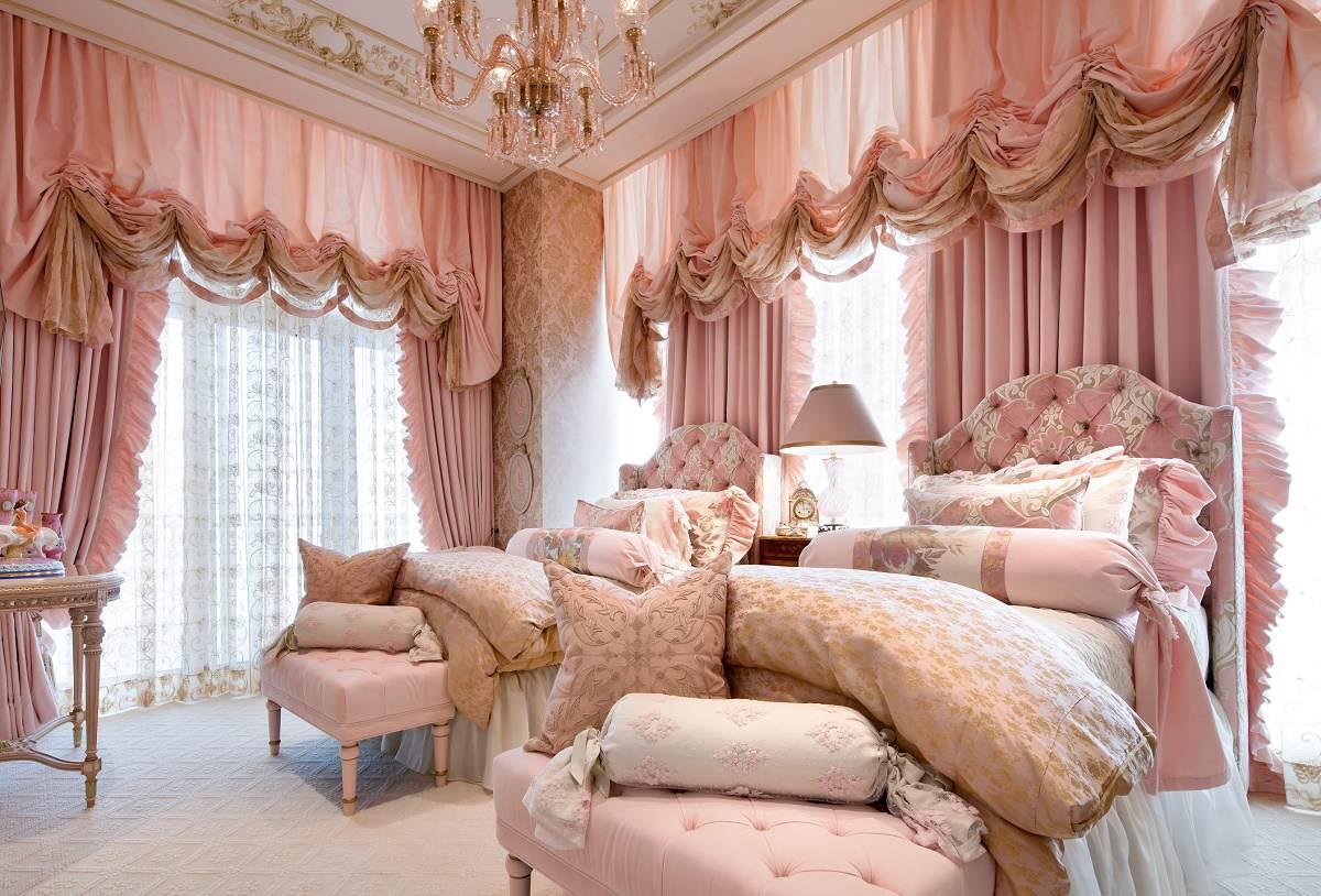 Lori Morris eclectic luxury design Four Seasons bedroom