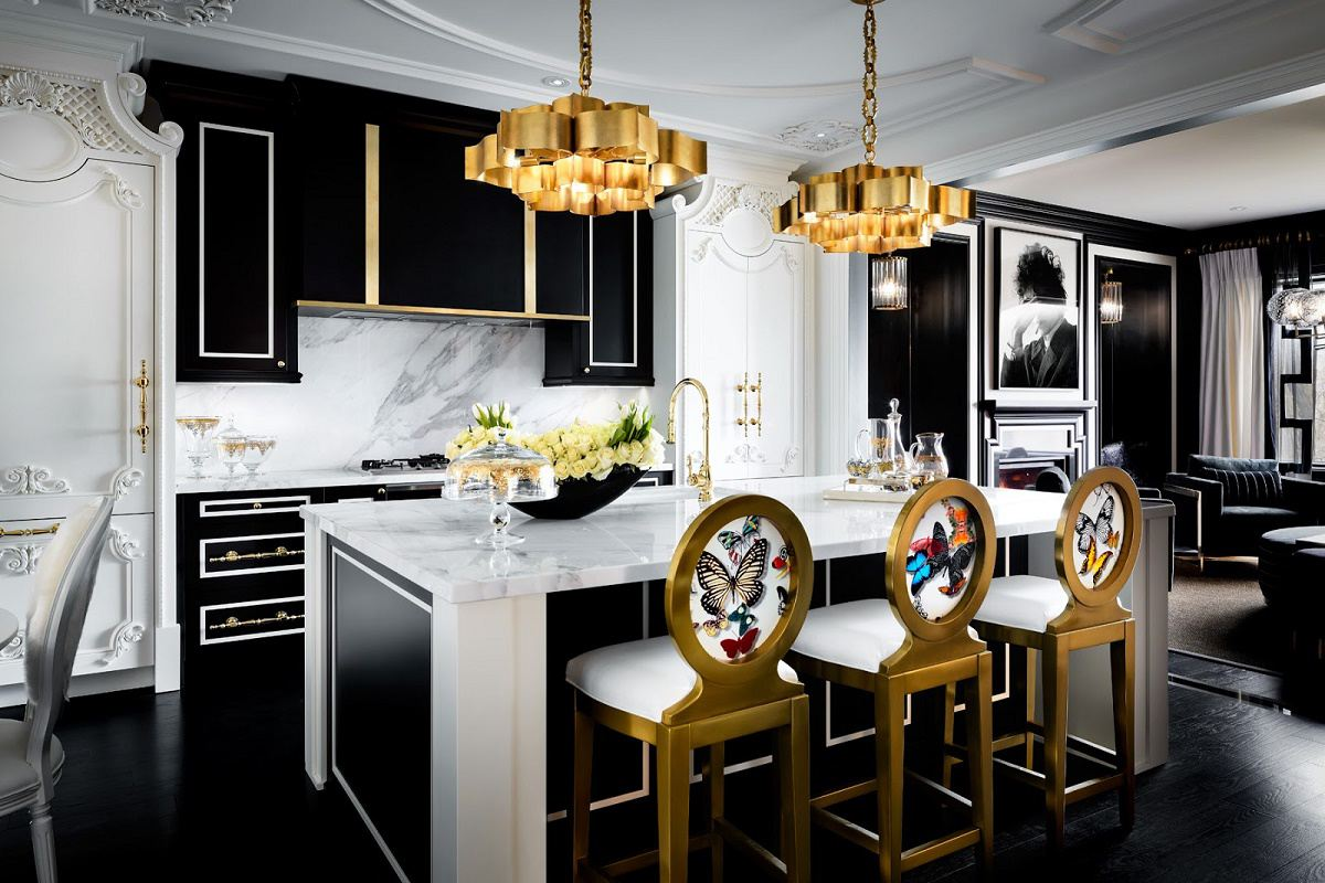 Eclectic Kitchen Decor