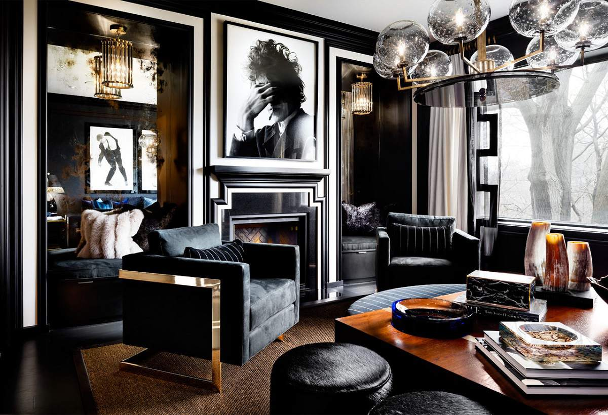 lori morris eclectic luxury design russel hill model - Interior Luxury Design