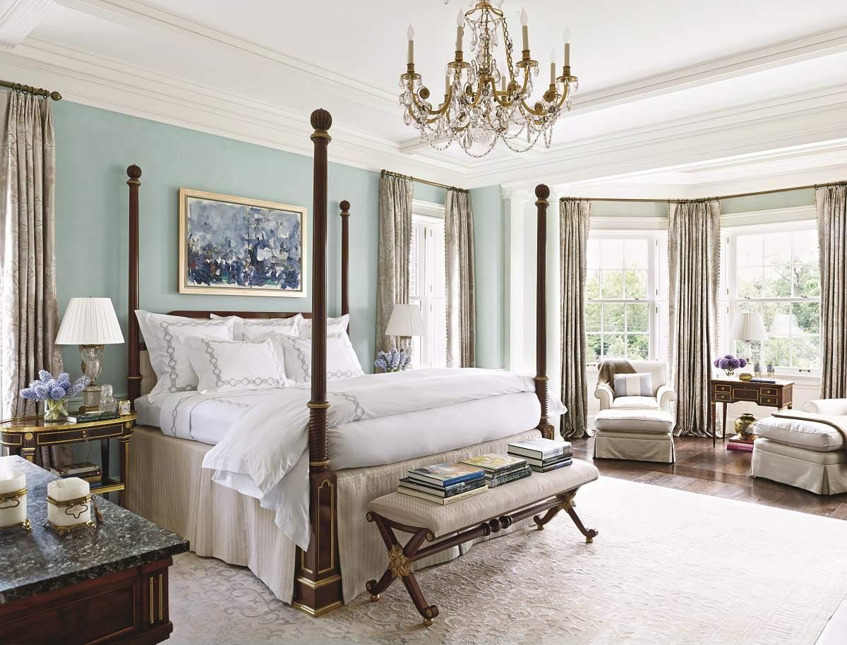 Contemporary Traditional Design Master Bedroom Dk Decor