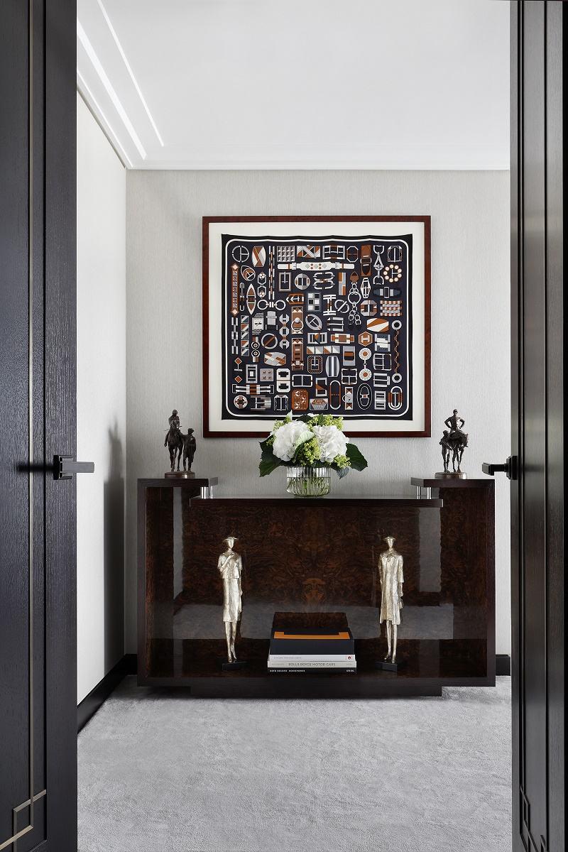 Oliver Burns Luxury Bespoke Design Master Bedroom Entrance Dk Decor