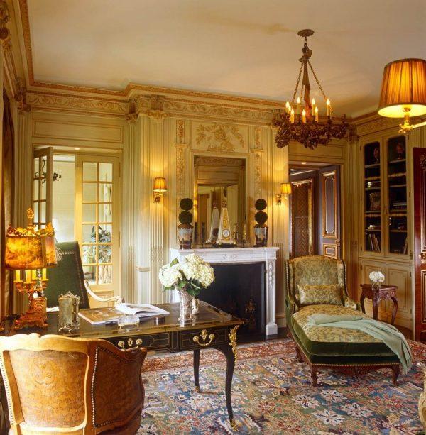 Interior Design Inspiration Photos By Laura Hay Decor Design: Brian McCarthy 18th-century French Design Master Bedroom