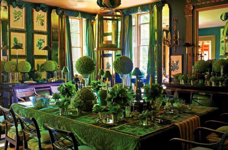 Green Interior Design Inspiration